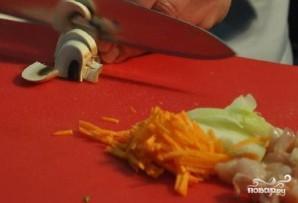 Грибной суп без картофеля - фото шаг 4