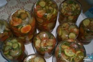 Огурцы в томатной заливке - фото шаг 4