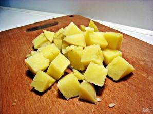 Салат с квашеной капустой - фото шаг 1