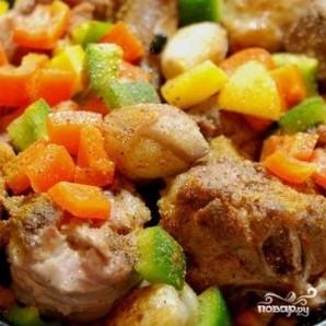 Баранина с овощами в тажине - фото шаг 7