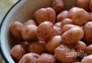 Картофельный салат с сыром - фото шаг 1