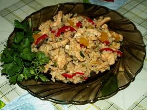 Рис с грибами и овощами - фото шаг 13