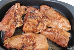 Курица кусочками в соусе в духовке - фото шаг 3