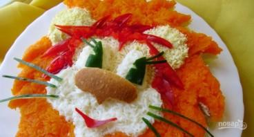 Салат для детей на День рождения - фото шаг 5