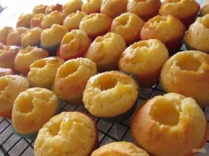 Маффины с лимонным кремом и меренгой - фото шаг 4
