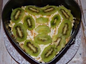 Салат с киви и ветчиной - фото шаг 8