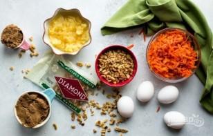 Морковный торт с орехами - фото шаг 1