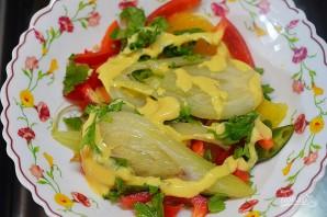 Салат из фенхеля и апельсина с заправкой из авокадо - фото шаг 8