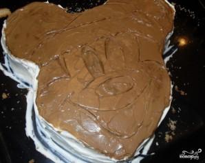 Торт в виде Миккимауса - фото шаг 3