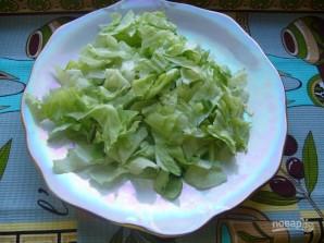 """Салат из капусты """"Айсберг"""" - фото шаг 3"""