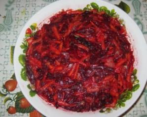 Заправка для борща на зиму с томатной пастой   - фото шаг 3