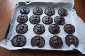 Мягкое шоколадное печенье с какао - фото шаг 7