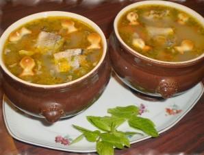 Суп из консервы сайры - фото шаг 7