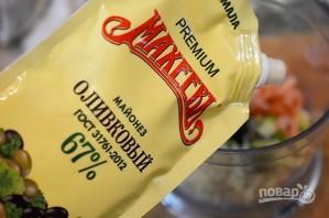 Закуска на крекерах с кремом из авокадо - фото шаг 3