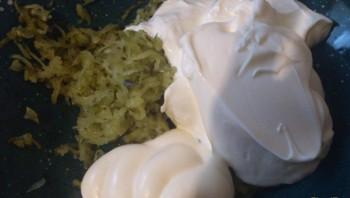 Соус из сливок и майонеза - фото шаг 2