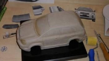 """Торт """"Автомобиль"""" - фото шаг 9"""