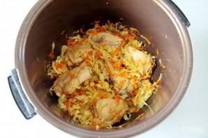 Курица с рисом и фасолью - фото шаг 4