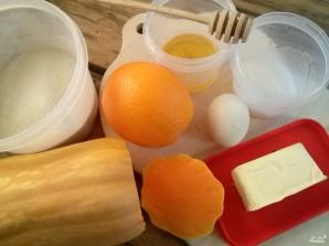 Тыквенный пирог с апельсином - фото шаг 1