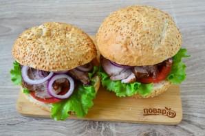 Сэндвичи с глазированной свининой - фото шаг 9