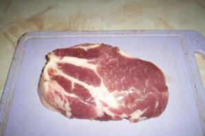 Стейк из свиной шейки - фото шаг 1