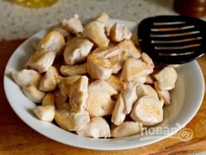 Курица с базиликом и сметаной - фото шаг 2
