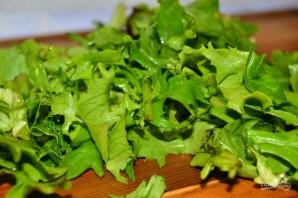 Салат с соленьями - фото шаг 1