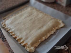 Слоеный пирог с тунцом - фото шаг 10