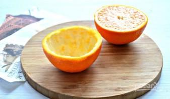 Новогодний фруктовый салат - фото шаг 1