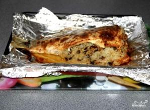 Карп с рисом, запеченный в духовке - фото шаг 3