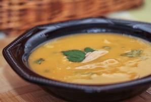 Суп из тыквы с курицей - фото шаг 6