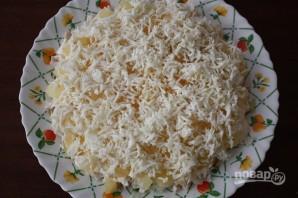 Салат с куриным филе и ананасами - фото шаг 5