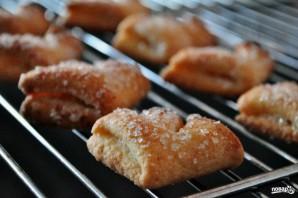 """Печенье """"Гусиные лапки"""" из творога - фото шаг 4"""