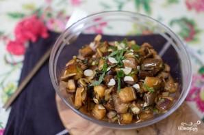 Салат из запеченных баклажанов - фото шаг 6