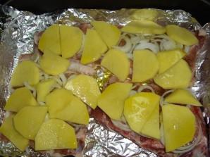 Картофель с ребрышками в духовке - фото шаг 2