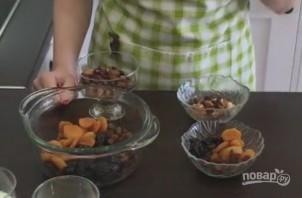 Пасхальный кулич (паска) с сухофруктами и орехами - фото шаг 1