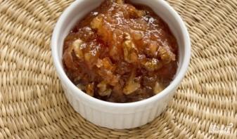 Варенье из айвы с грецкими орехами - фото шаг 5