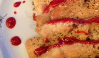 Курица с клюквенным соусом - фото шаг 5