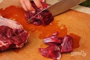 Вкусный плов из баранины - фото шаг 1