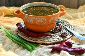 Пряный картофельный суп с орехами - фото шаг 8