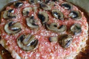 Пицца без муки - фото шаг 4