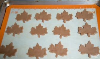"""Печенье """"Листья"""" - фото шаг 6"""