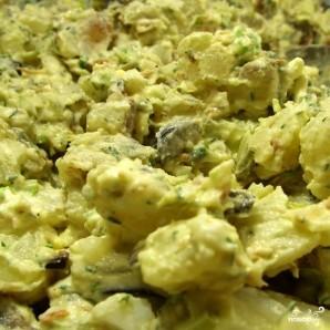 Картофельный салат с беконом - фото шаг 8