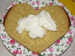 """Торт """"Влюбленное сердце"""" - фото шаг 3"""