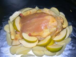 Курица с айвой - фото шаг 4