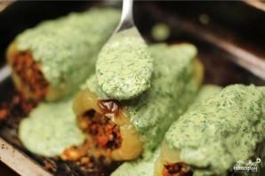 Перец, фаршированный сыром и гречкой - фото шаг 5