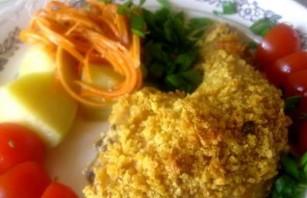 Курица в духовке с корочкой - фото шаг 6