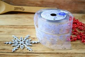 """Новогодний торт из конфет """"Сюрприз"""" - фото шаг 3"""