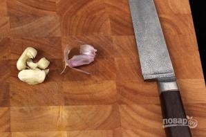 Легкий весенний салат с огурцами - фото шаг 3
