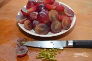 Салат из курицы с виноградом - фото шаг 6