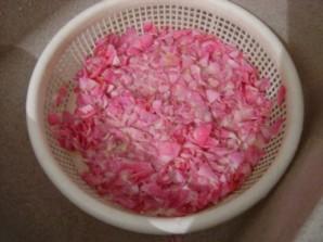 Розовое варенье пятиминутка - фото шаг 4